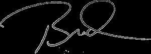 brad signature